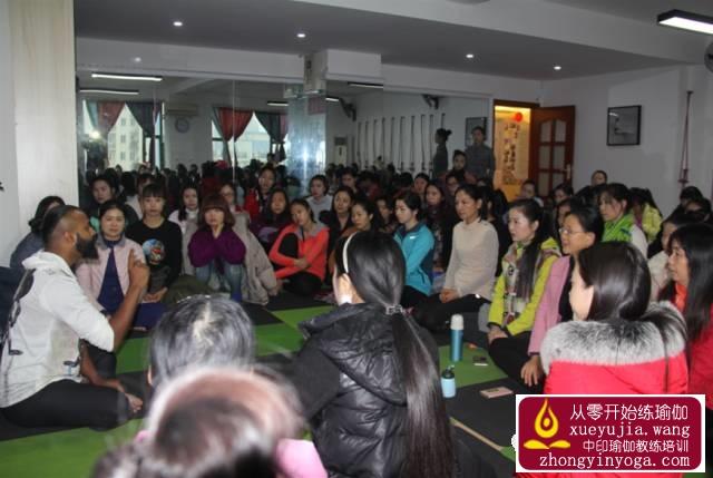中印瑜伽名师公益课长沙站精彩回顾 16