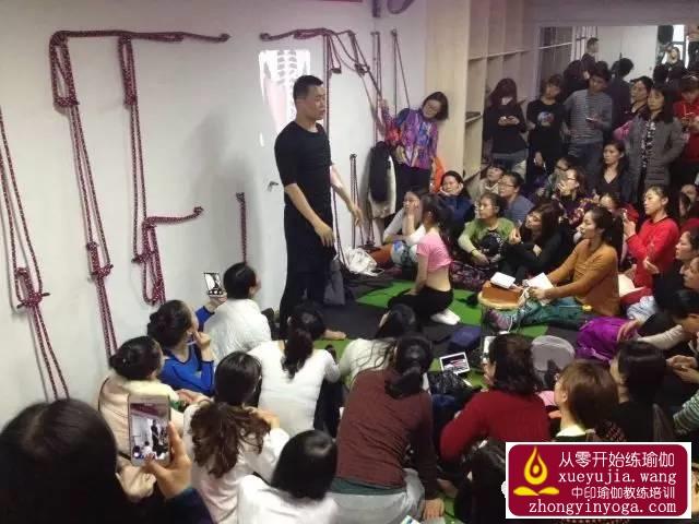 中印瑜伽名师公益课长沙站精彩回顾 19