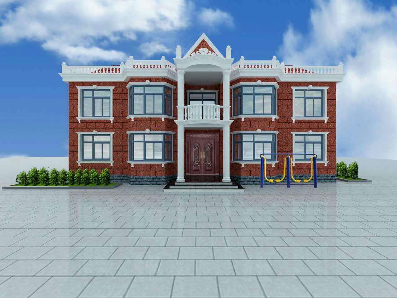 隆尧隆基,图纸,楼房预算,图纸v图纸,别墅,建缝反映二层怎么变形图片
