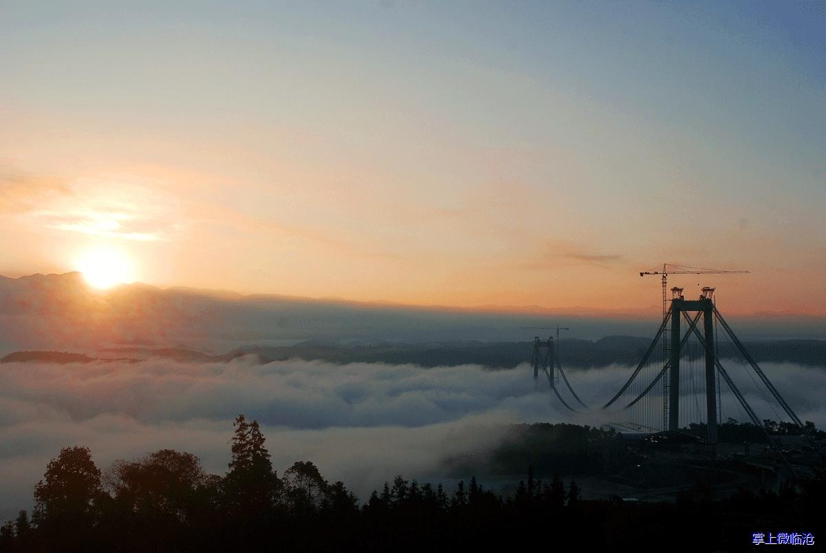 云南亚洲第一大桥今日通车!云中巨龙展震撼之美!